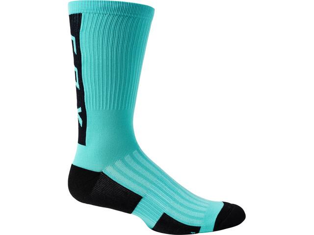"Fox 8"" Ranger Cushion Socks Men, teal"